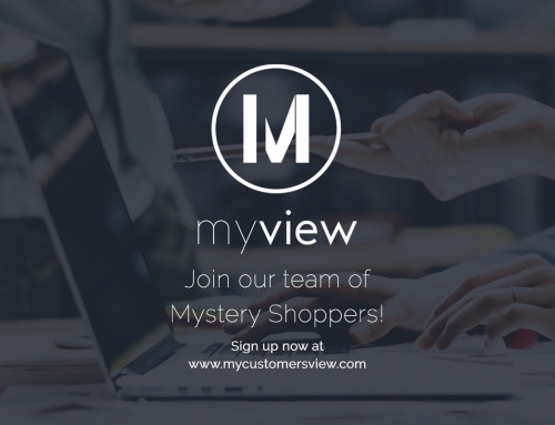 Become a Mystery Shopper at My View!