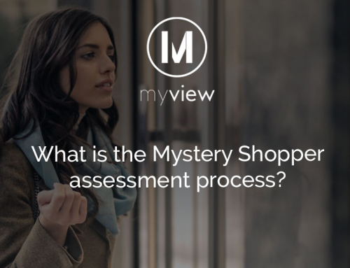 What is the mystery shopper assessment process?